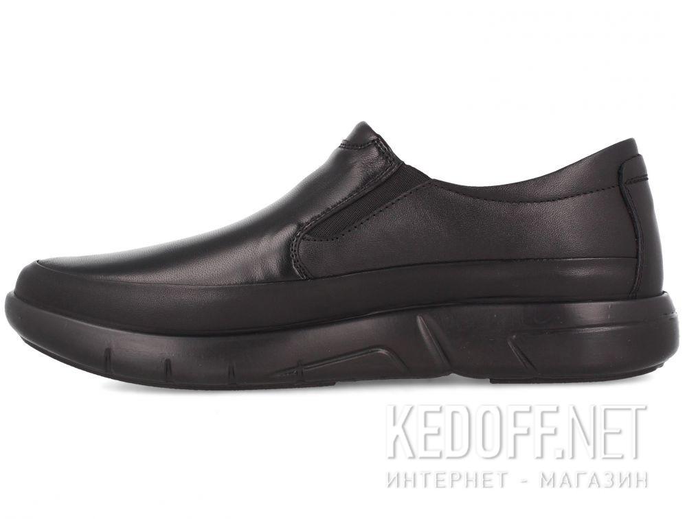 Мужские туфли Esse Comfort  28611-01-27 Чёрные купить Украина