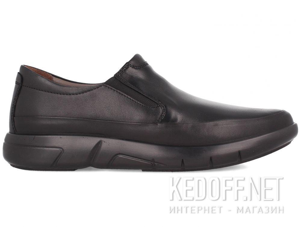 Мужские туфли Esse Comfort  28611-01-27 Чёрные купить Киев