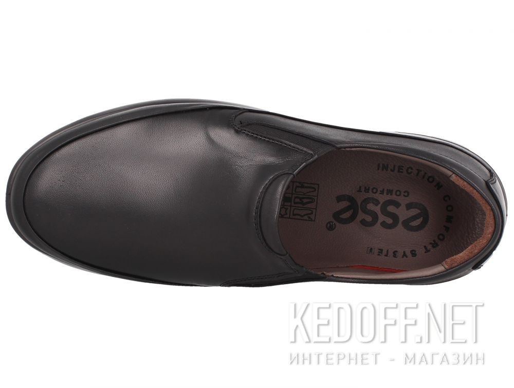 Оригинальные Мужские туфли Esse Comfort  28611-01-27 Чёрные