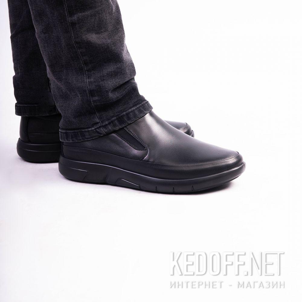 Мужские туфли Esse Comfort  28611-01-27 Чёрные все размеры