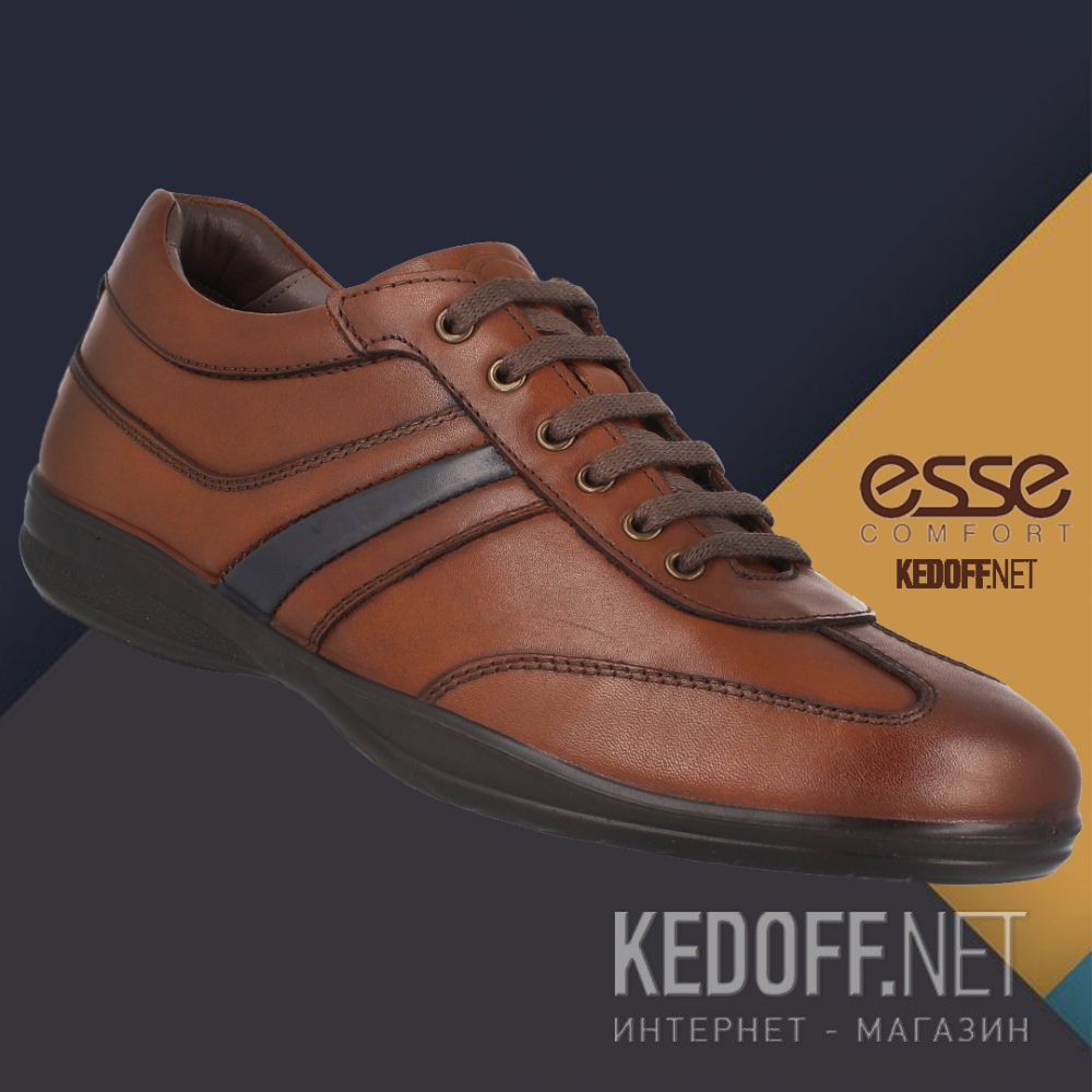 Мужские туфли Esse Comfort 23093-01-45 доставка по Украине