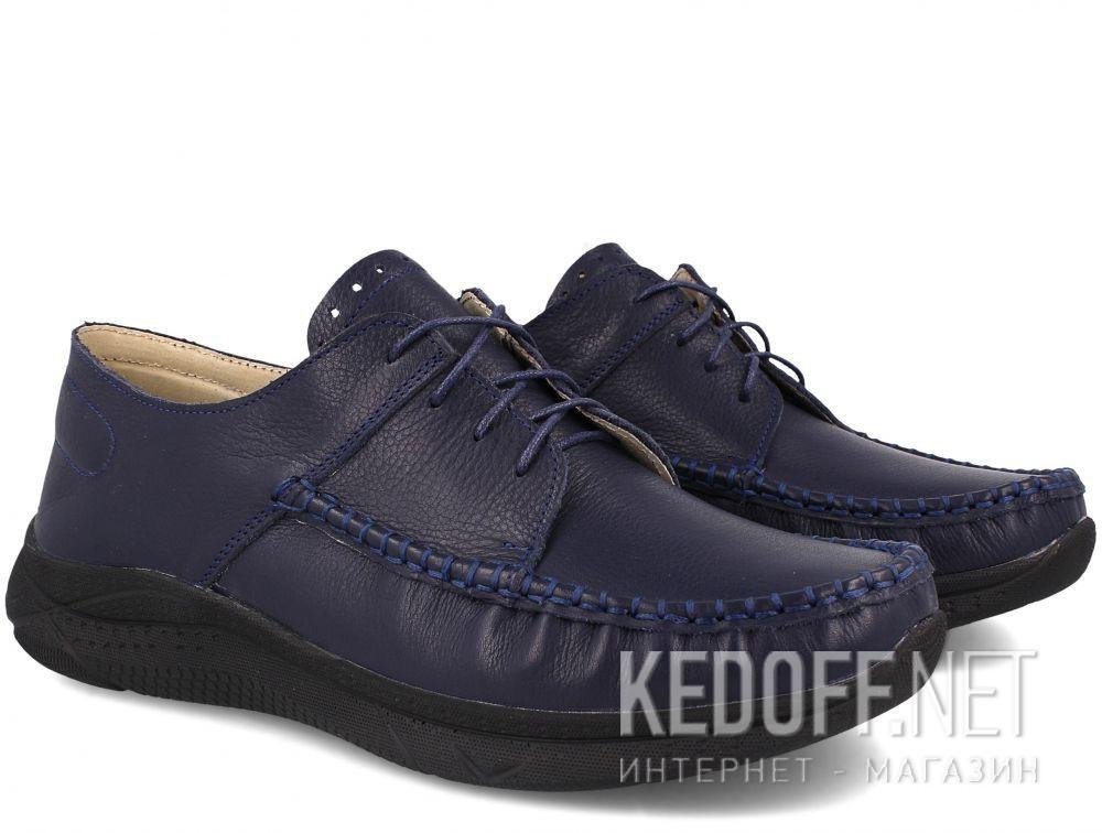 Мужские туфли Forester Clark Navy 205-89 купить Украина