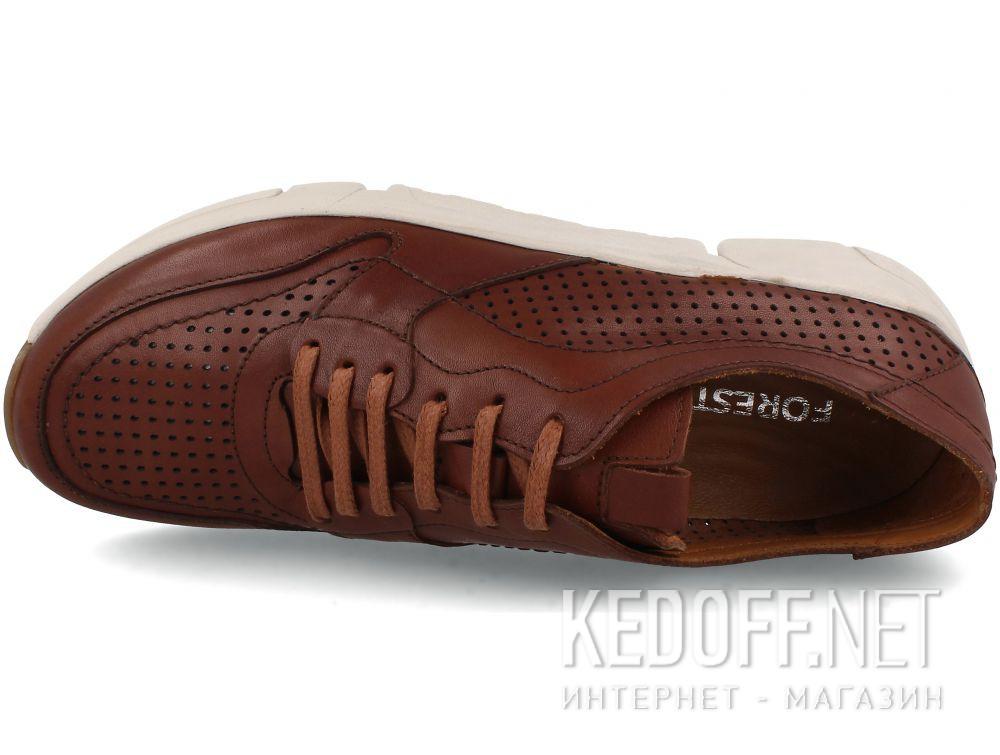 Оригинальные Мужские кожаные кроссовки Forester Eco Balance 4104-45