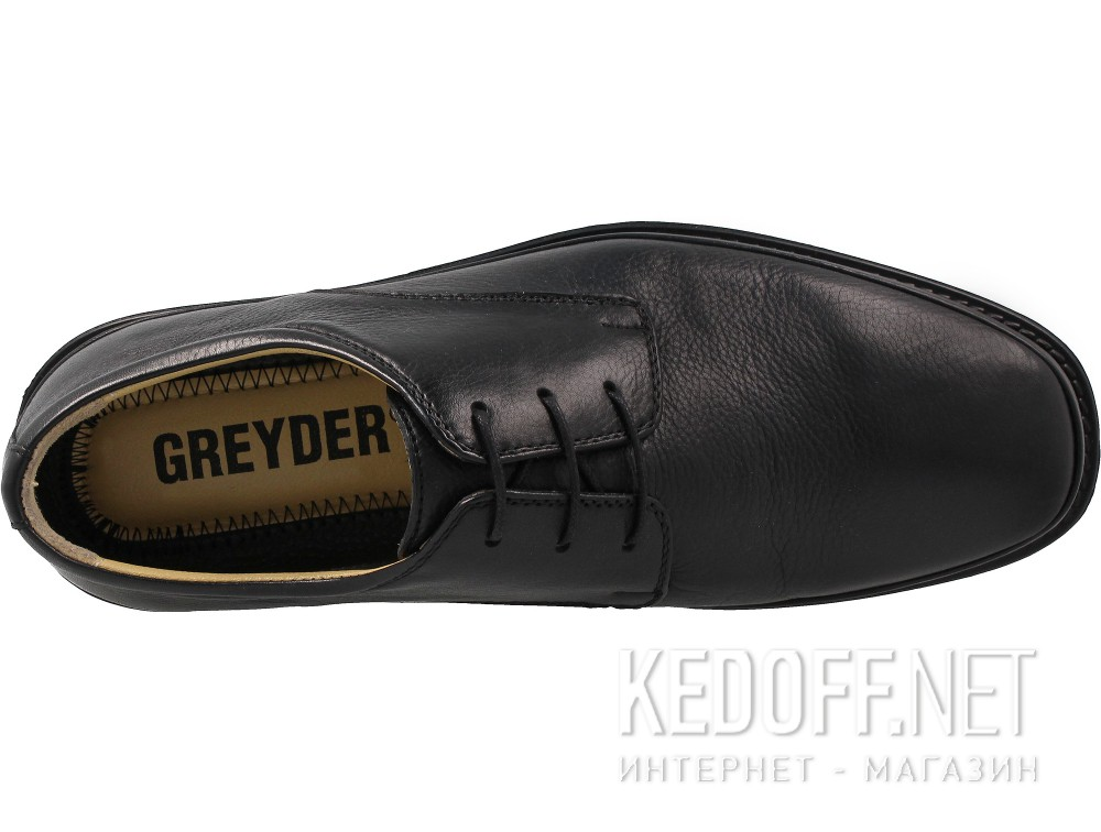 Men's shoes Greyder Office 60401-27 Black leather