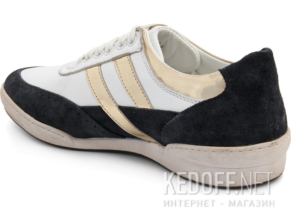 Туфли Subway 203-00032 унисекс   (чёрный/белый) купить Украина