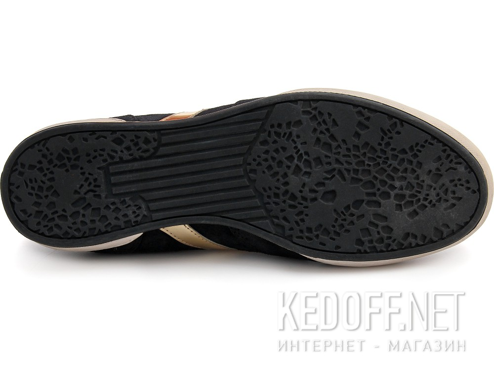 Туфли Subway 203-00032 унисекс   (чёрный/белый) купить Киев