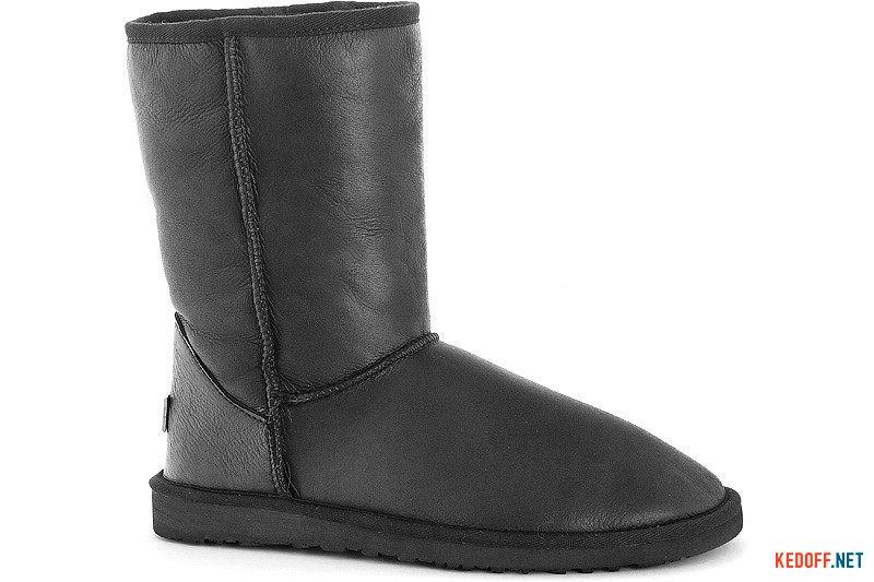 Men ugg boots Forester 13050-2002 Black Leather