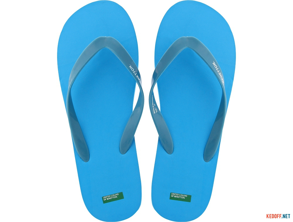 Купить Вьетнамки Benetton 601 унисекс   (голубой)