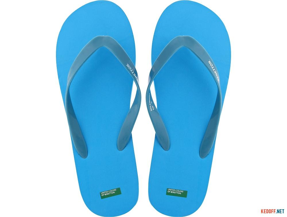 Вьетнамки Benetton 601 Голубые