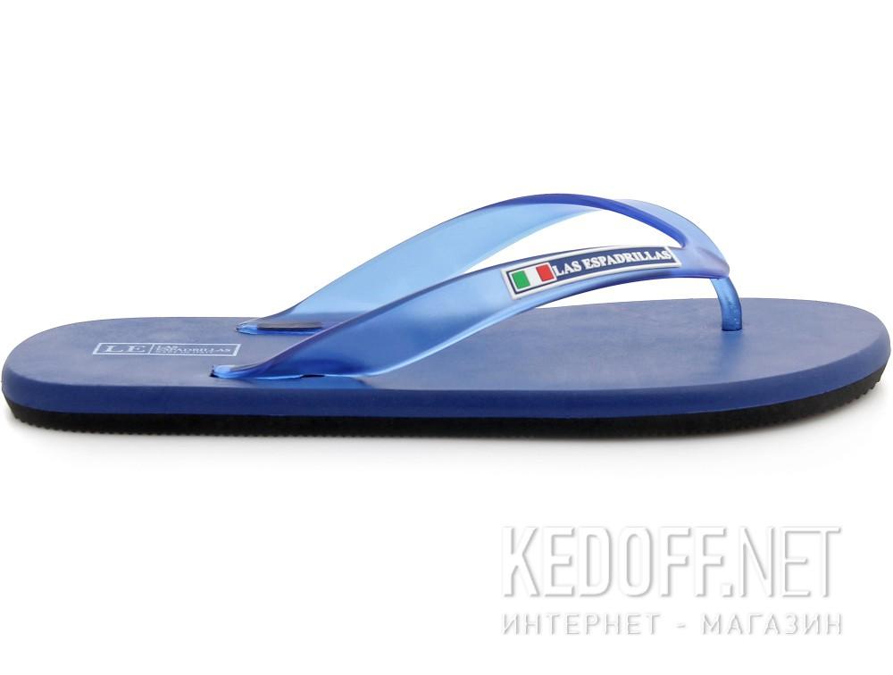 Вьетнамки Las Espadrillas 7201-89 Made in Italy (чёрный/синий) купить Украина