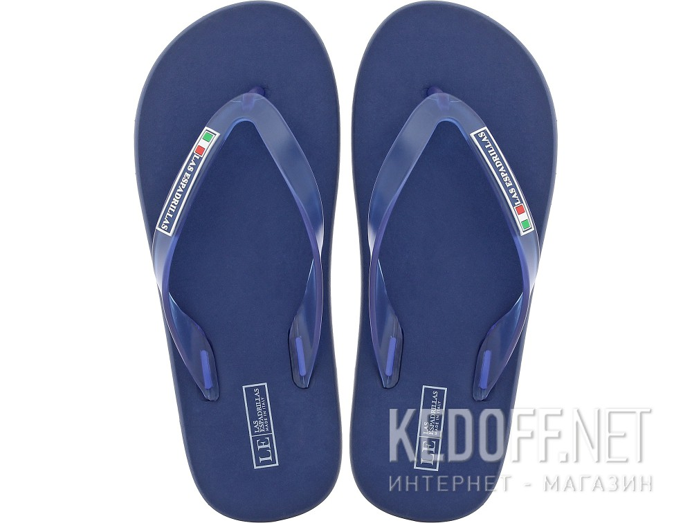Men's flip flops Las Espadrillas Palau Royal 7201-89 Made in Italy