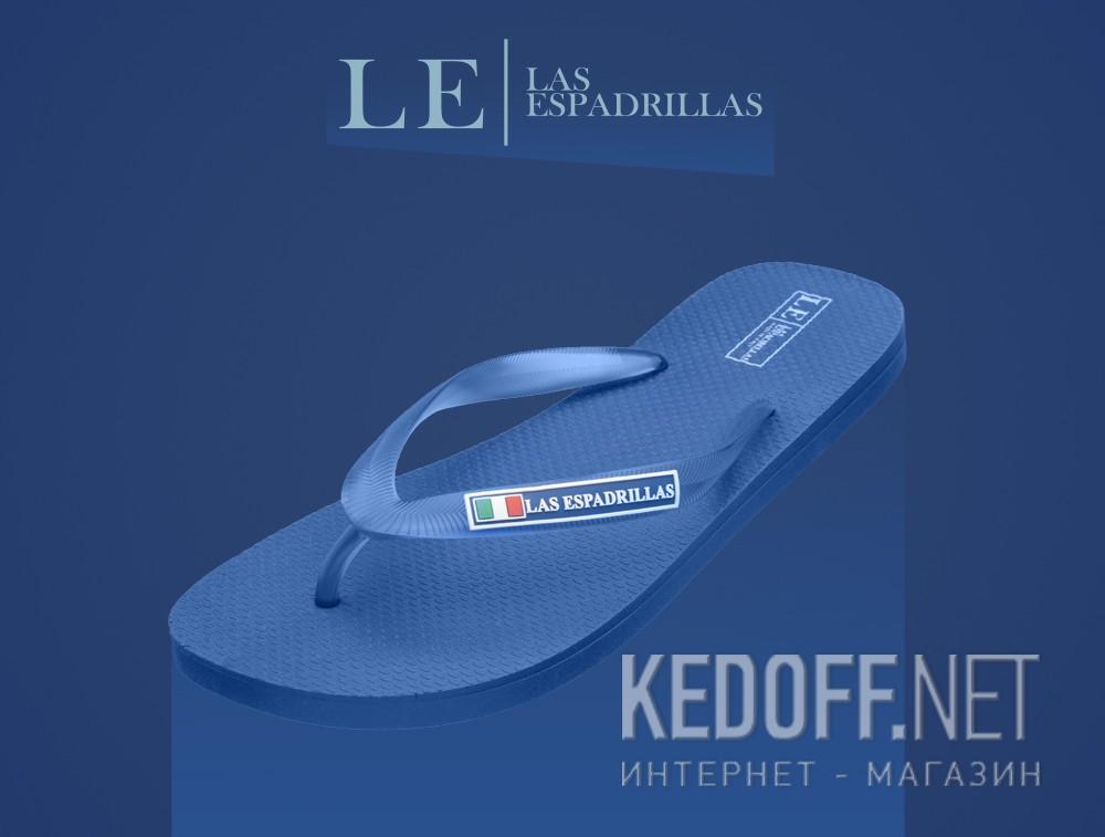Мужские вьетнамки Las Espadrillas 7223-89 Made in Italy   (синий) описание