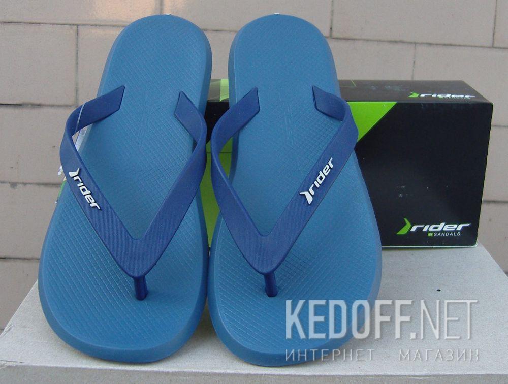 Мужские вьетнамки Rider R1 10594-20781   (тёмно-синий) доставка по Украине