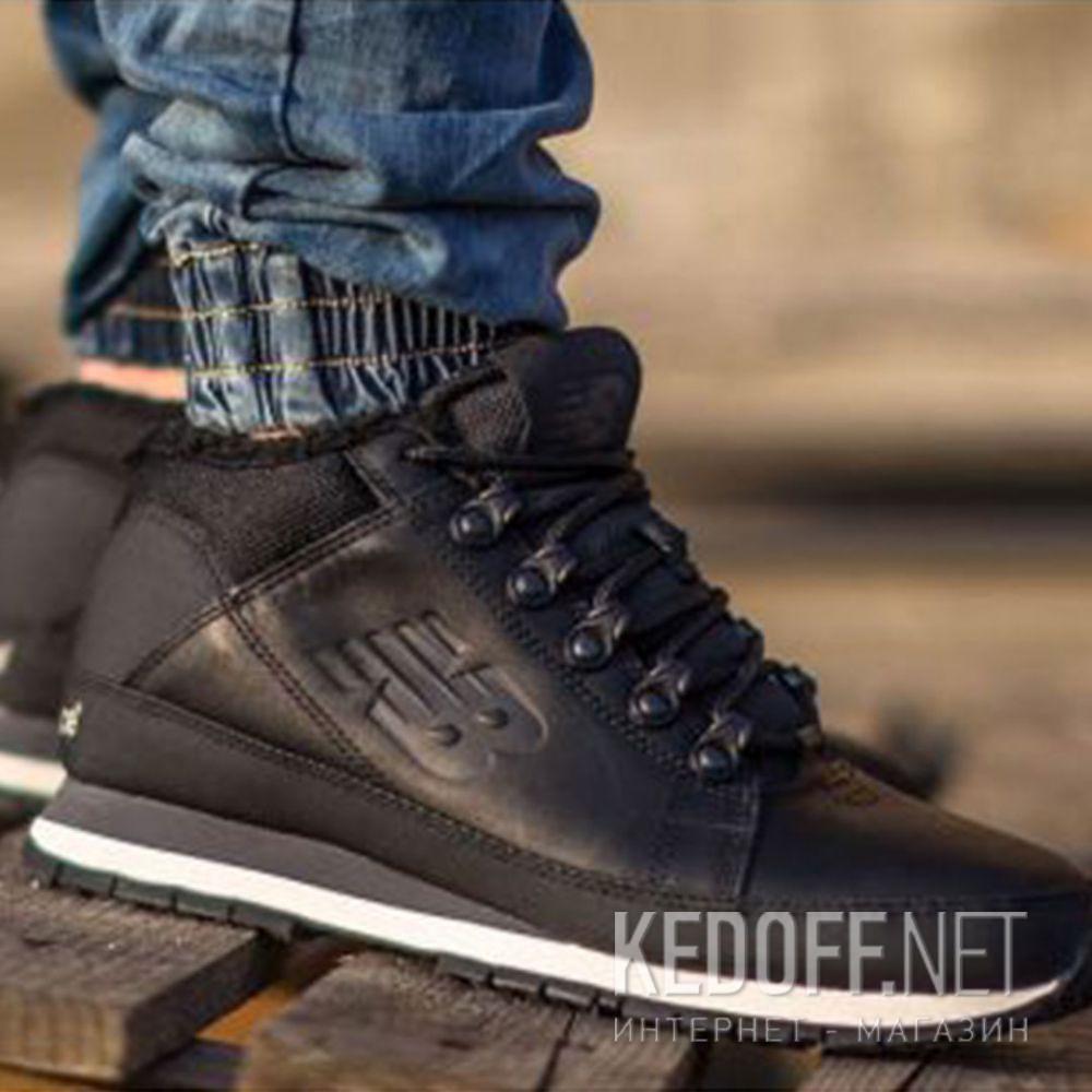Мужские кроссовки New Balance HL754BN   (чёрный) доставка по Украине