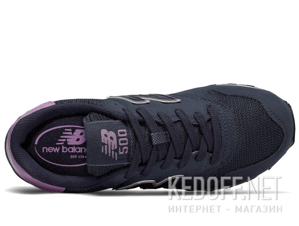 Женские кроссовки New Balance Gw500rnp  (фиолетовый/синий) описание