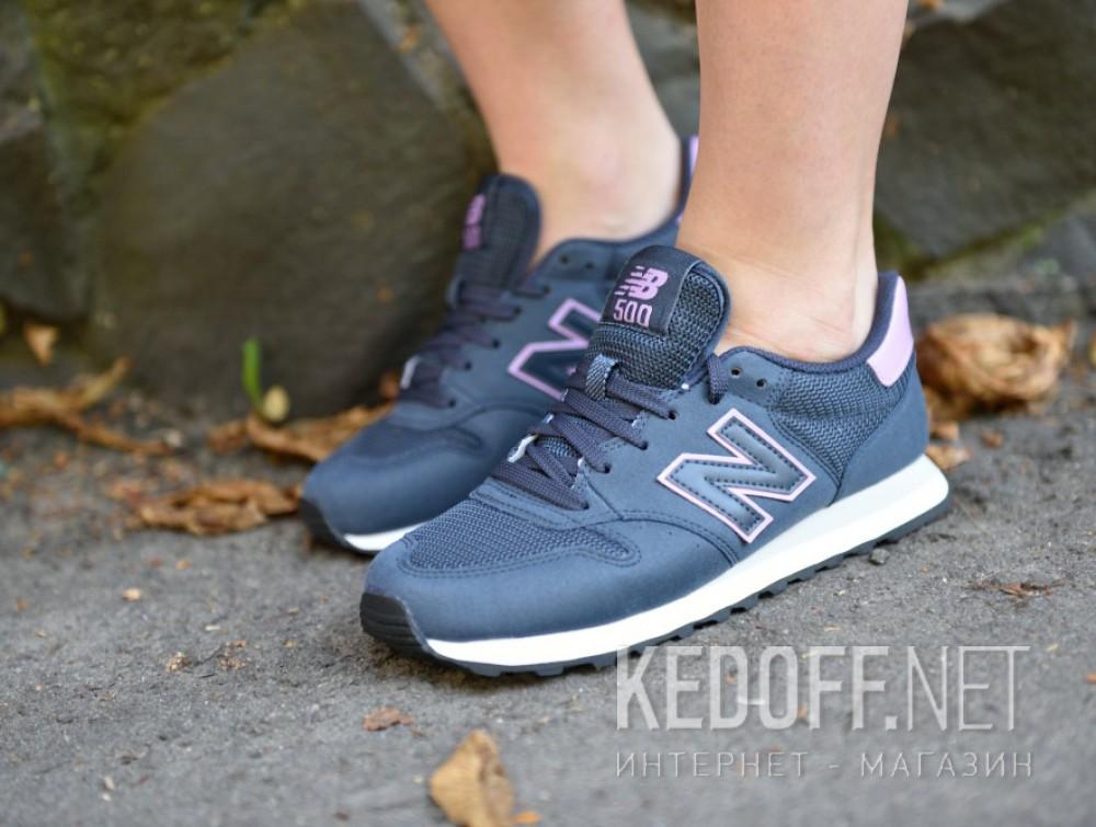 Цены на Женские кроссовки New Balance Gw500rnp  (фиолетовый/синий)