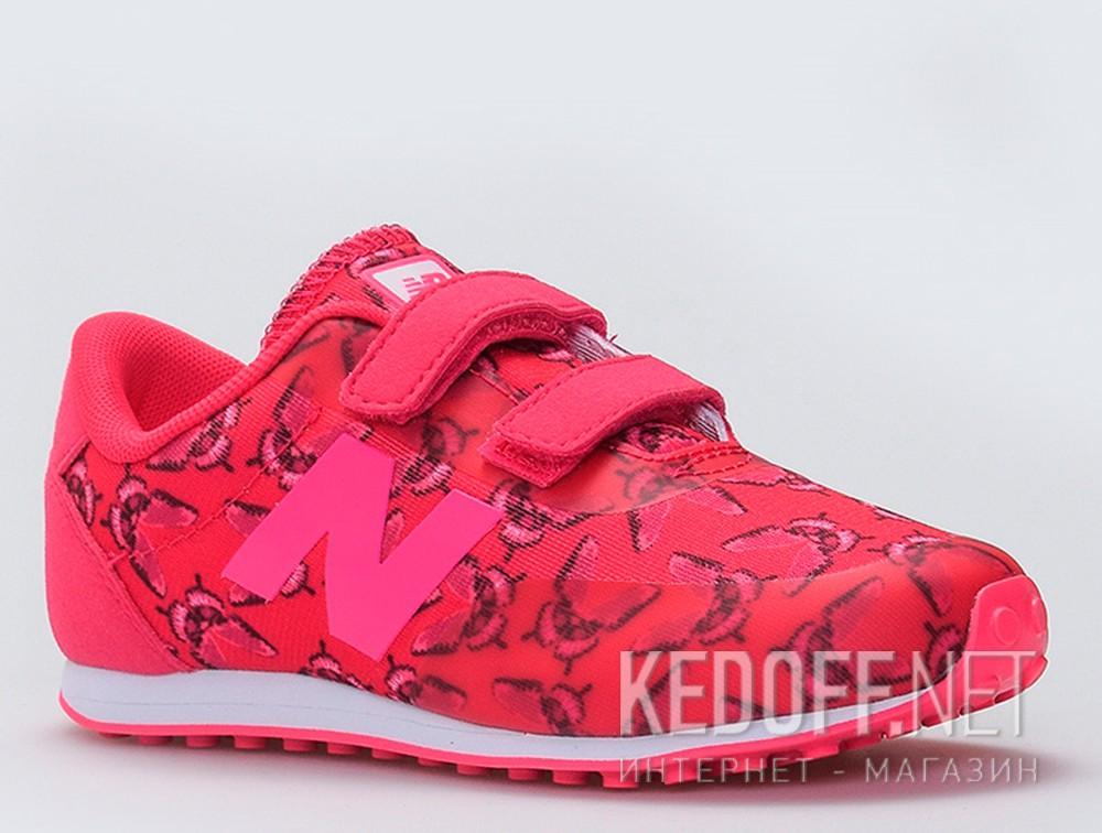 Купить Кроссовки New Balance KA410BDY унисекс   (малиновый/розовый)
