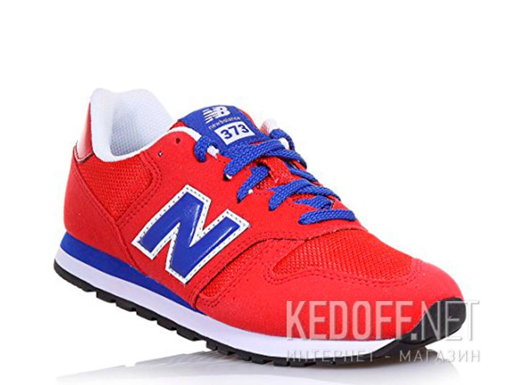 Кроссовки New Balance KJ373RDY унисекс   (красный)