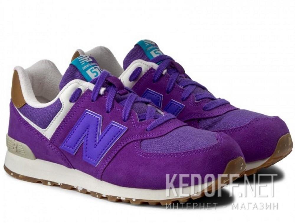 Спортивная обувь New Balance KL574EUG унисекс   (фиолетовый) купить Украина
