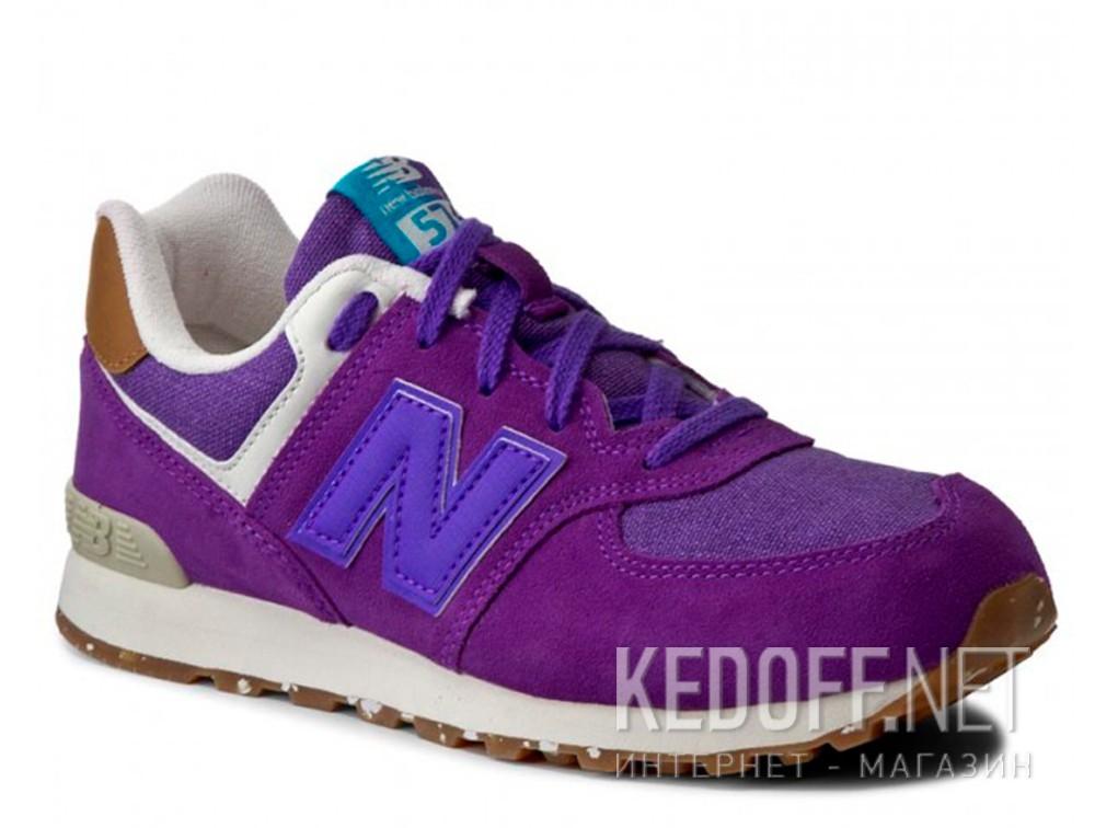 Купить Спортивная обувь New Balance KL574EUG унисекс   (фиолетовый)