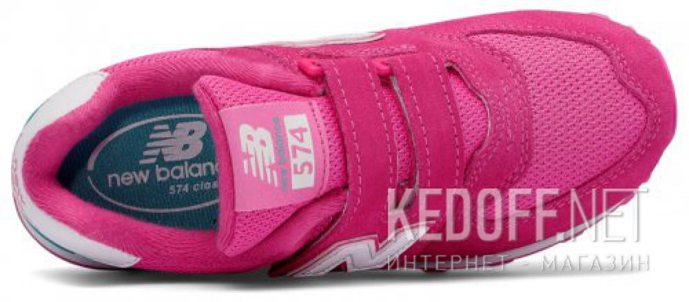 Оригинальные Кроссовки New Balance KV574CZY унисекс   (розовый)