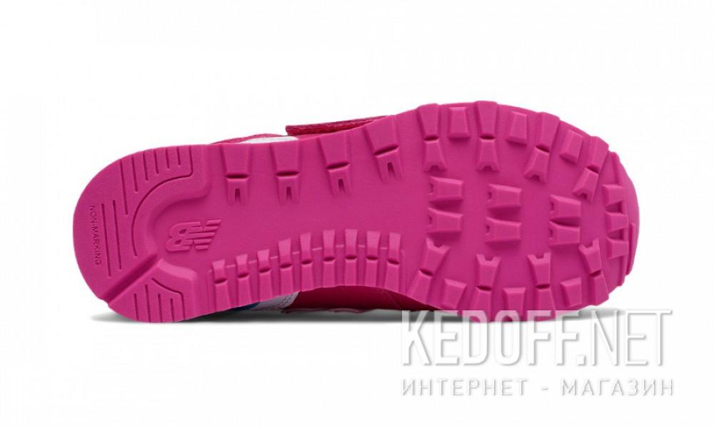 Кроссовки New Balance KV574CZY унисекс   (розовый) описание