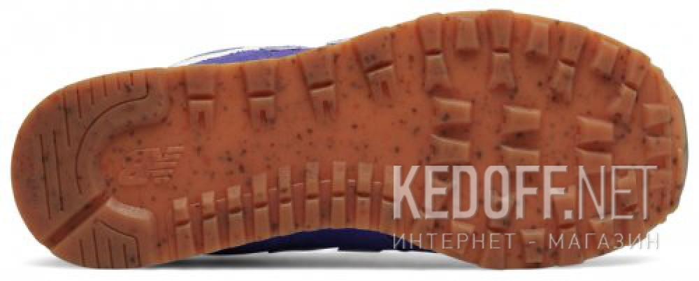 Цены на Спортивная обувь New Balance KL574EUG унисекс   (фиолетовый)