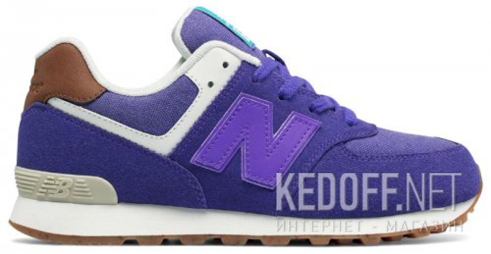 Спортивная обувь New Balance KL574EUG унисекс   (фиолетовый) купить Киев