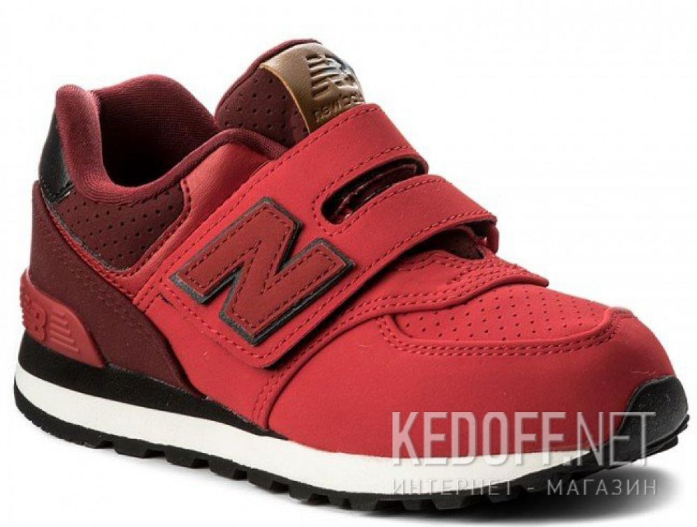 new balance shoes red. new balance kv574yiy shoes red