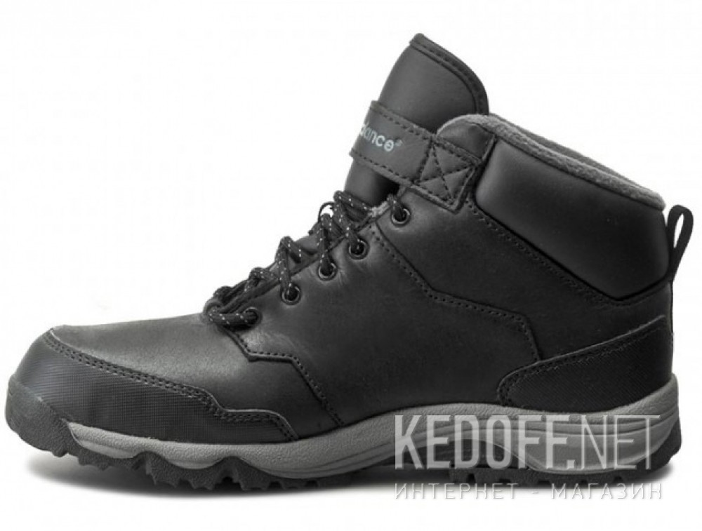 Ботинки New Balance KV754BLY унисекс   (чёрный)