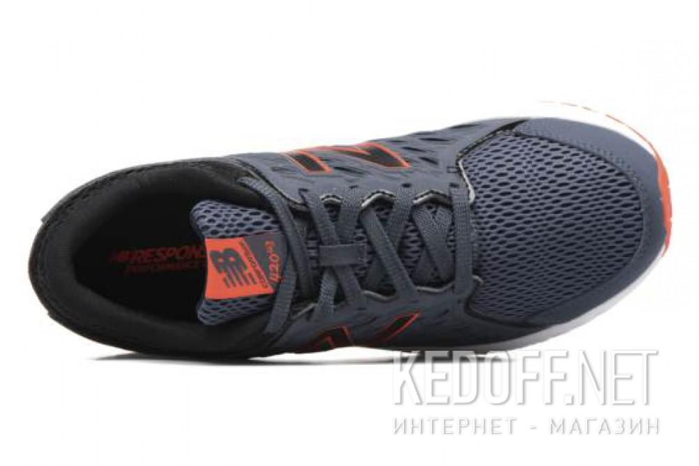 Оригинальные Кроссовки New Balance M420LT3 унисекс   (баклажановый /тёмно-серый/оранжевый/серый)