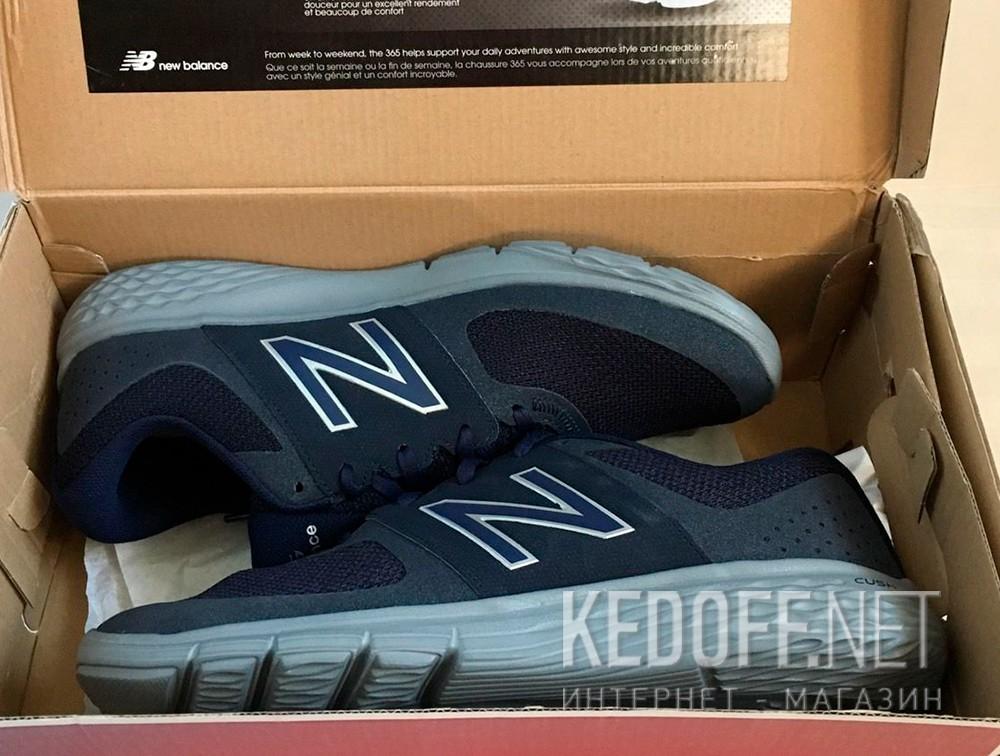 Цены на Мужские кроссовки New Balance MA365BL   (синий)