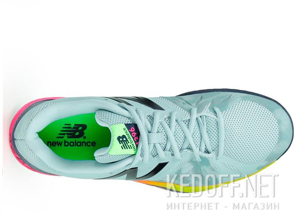 Кроссовки New Balance MC1296E2 унисекс (бирюзовый/розовый/серый) описание