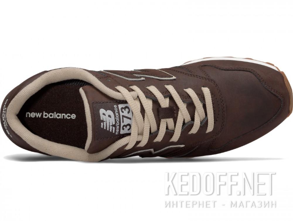 Мужские кроссовки New Balance ML373BRO   (коричневый) все размеры