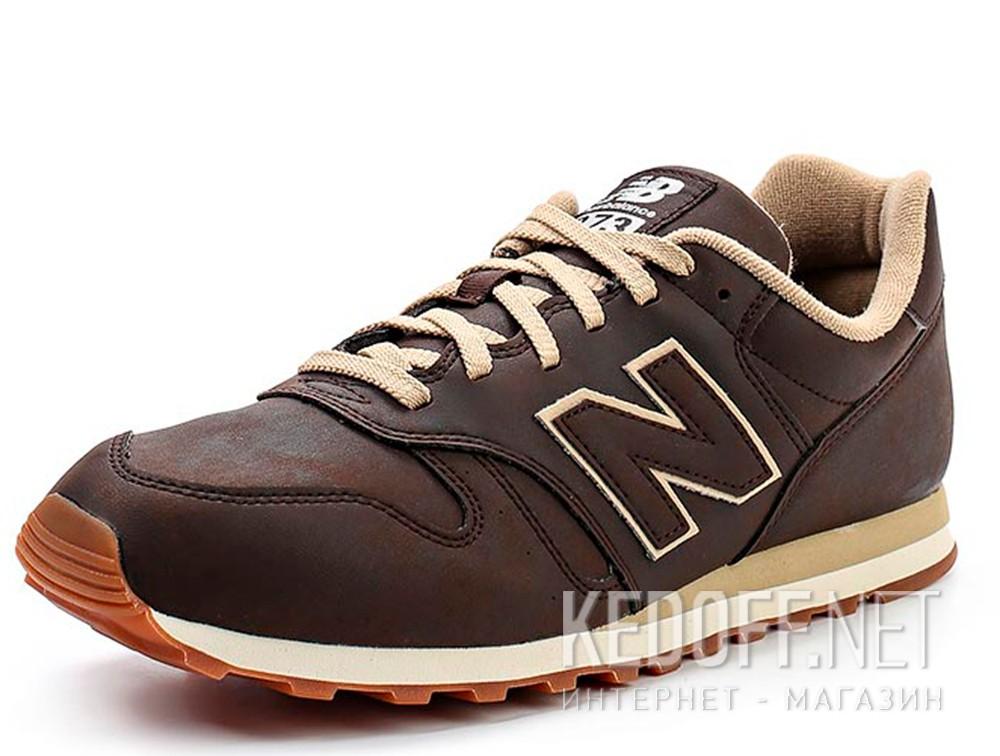 Оригинальные Мужские кроссовки New Balance ML373BRO   (коричневый)