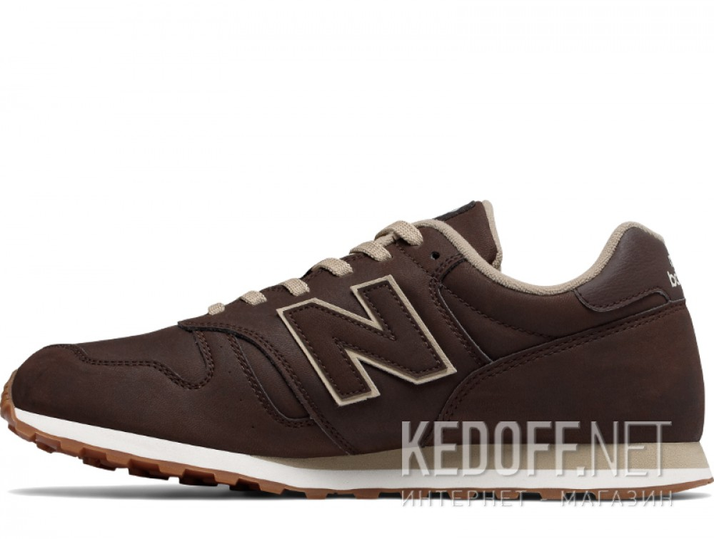 Мужские кроссовки New Balance ML373BRO   (коричневый) описание