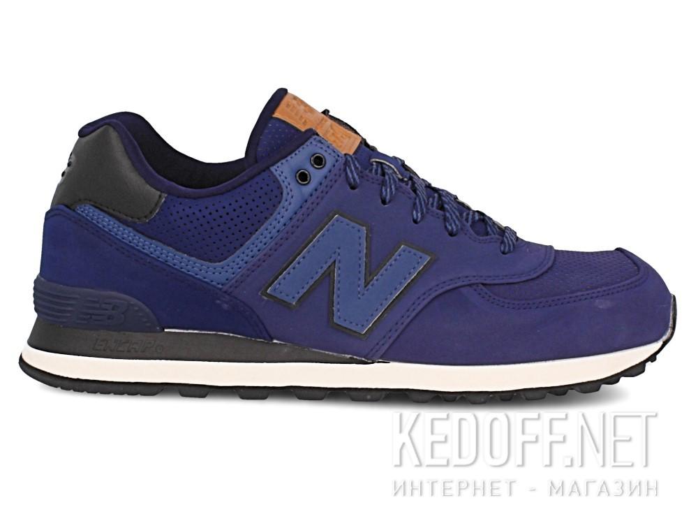 Мужская спортивная обувь New Balance Ml574gpf   (тёмно-синий) купить Украина