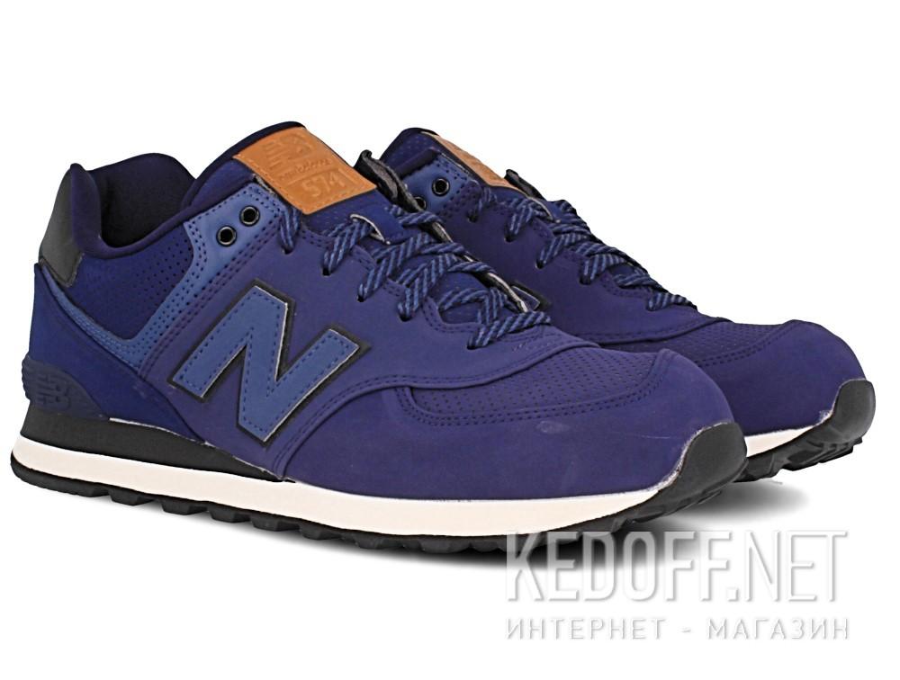 Оригинальные Мужская спортивная обувь New Balance Ml574gpf   (тёмно-синий)