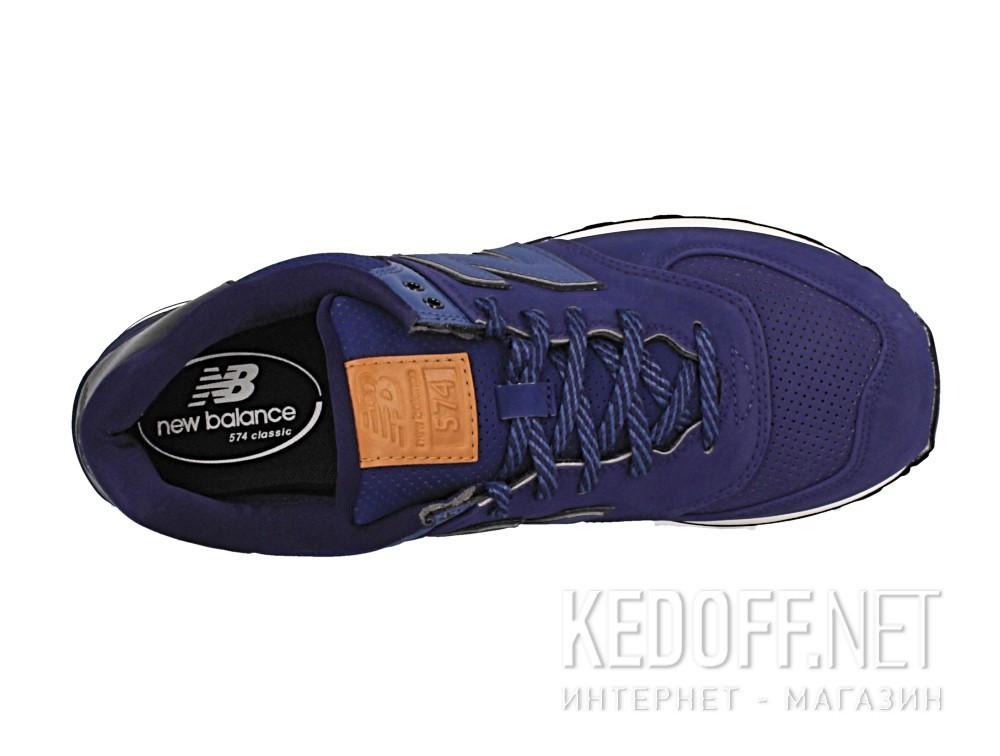 Мужская спортивная обувь New Balance Ml574gpf   (тёмно-синий) описание