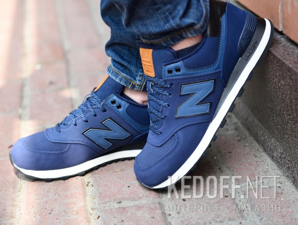 Мужская спортивная обувь New Balance Ml574gpf   (тёмно-синий) все размеры