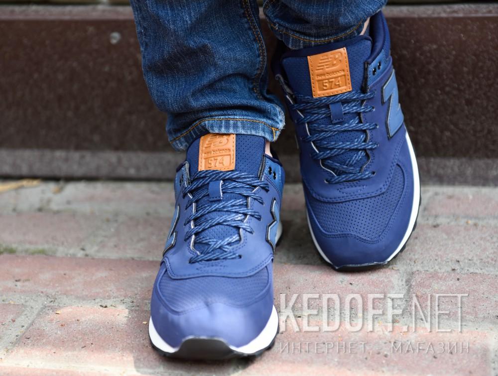 Доставка Мужская спортивная обувь New Balance Ml574gpf   (тёмно-синий)