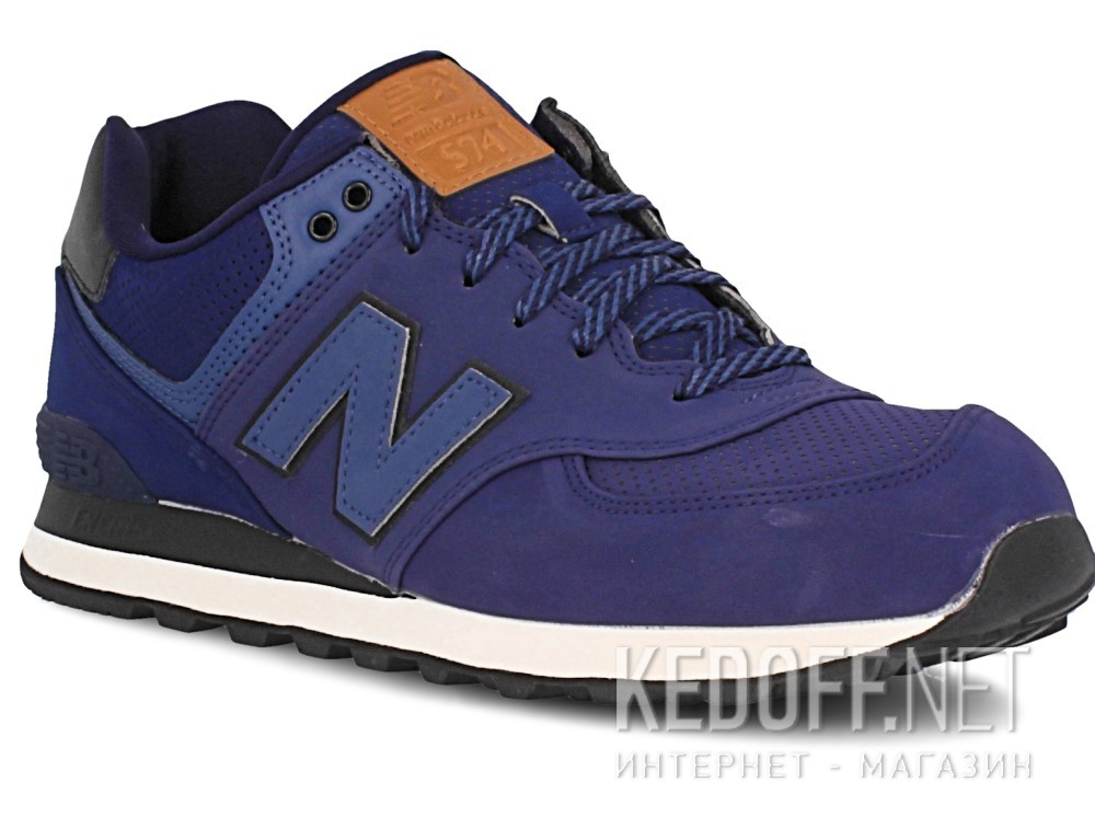 Купить Мужская спортивная обувь New Balance Ml574gpf   (тёмно-синий)