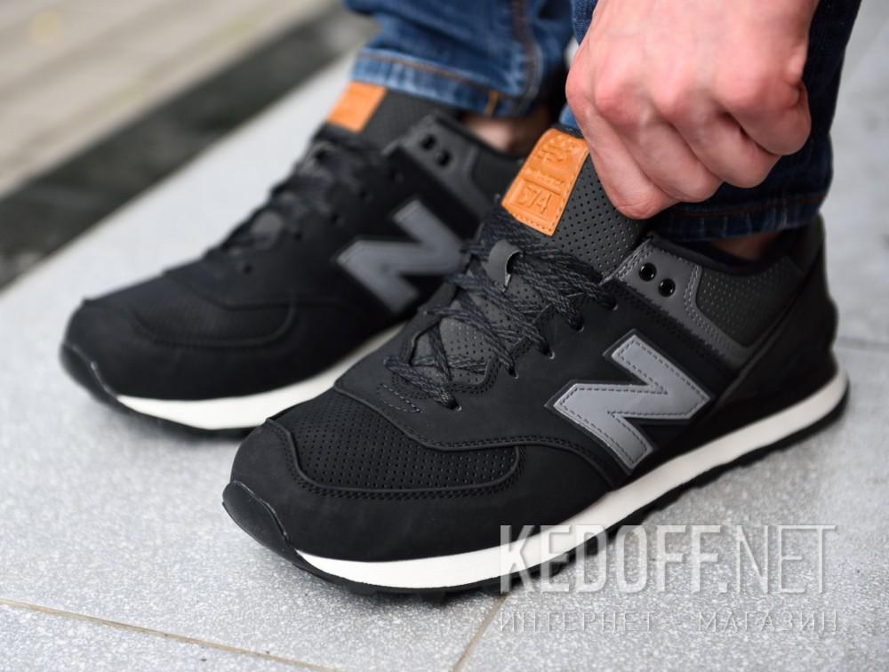 Цены на Мужские кроссовки New Balance ML574GPG   (чёрный)