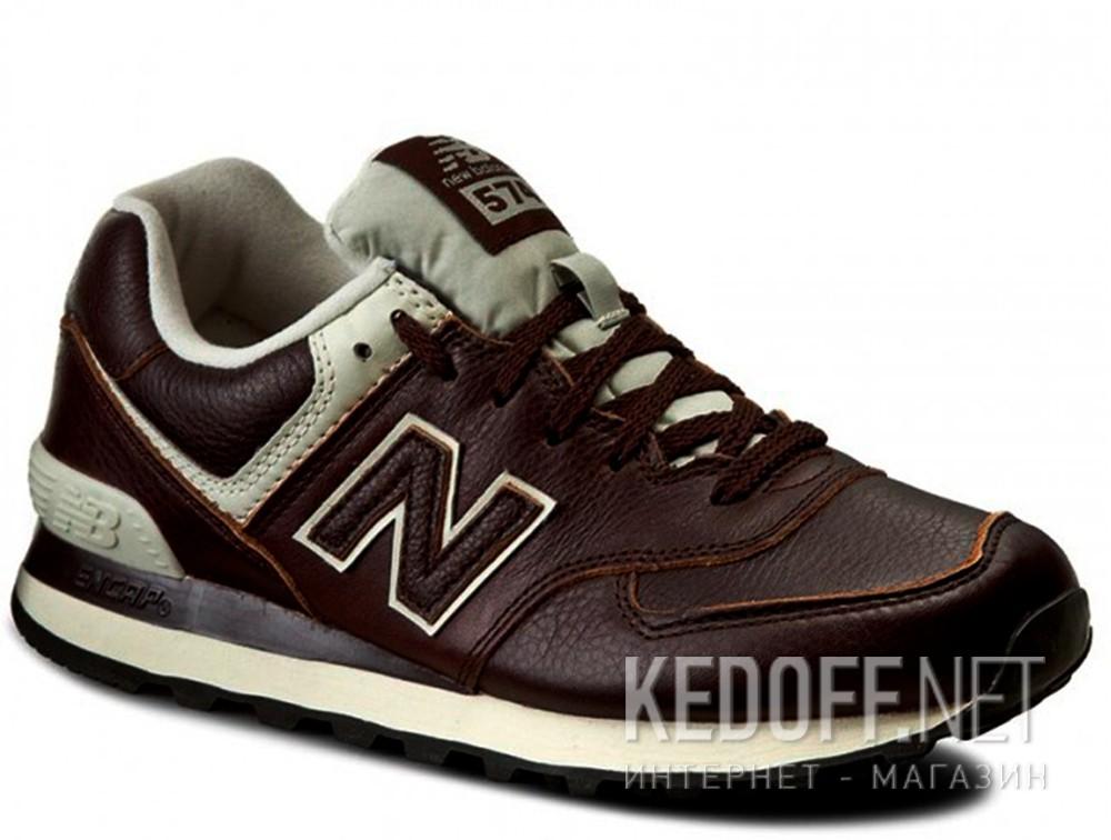Купить Мужские кроссовки New Balance ML574LUA   (тёмно-коричневый)