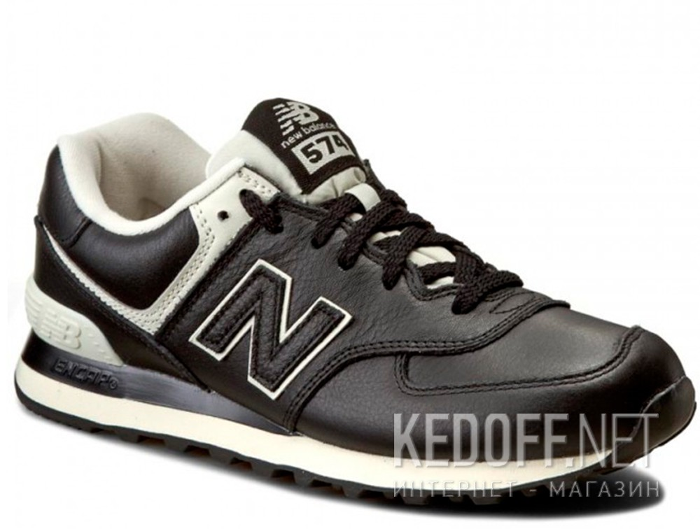 Add to cart Men's leather sneakers New Balance ML574LUC (Black)