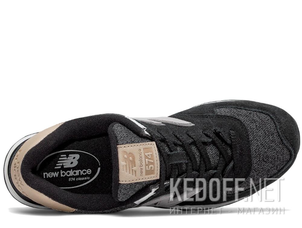 Мужские кроссовки New Balance ML574VAI   (чёрный) описание