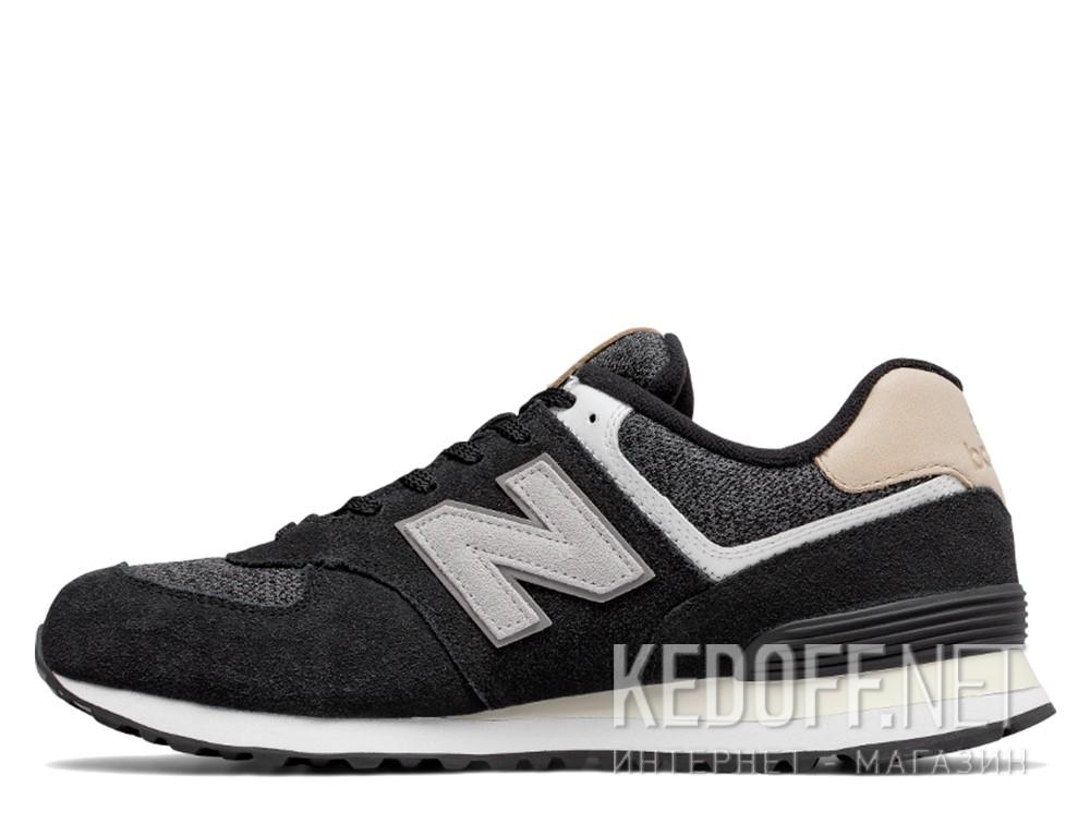 Мужские кроссовки New Balance ML574VAI   (чёрный) купить Киев