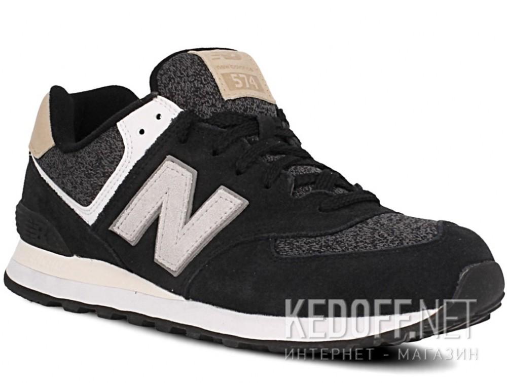 Купить Мужские кроссовки New Balance ML574VAI   (чёрный)