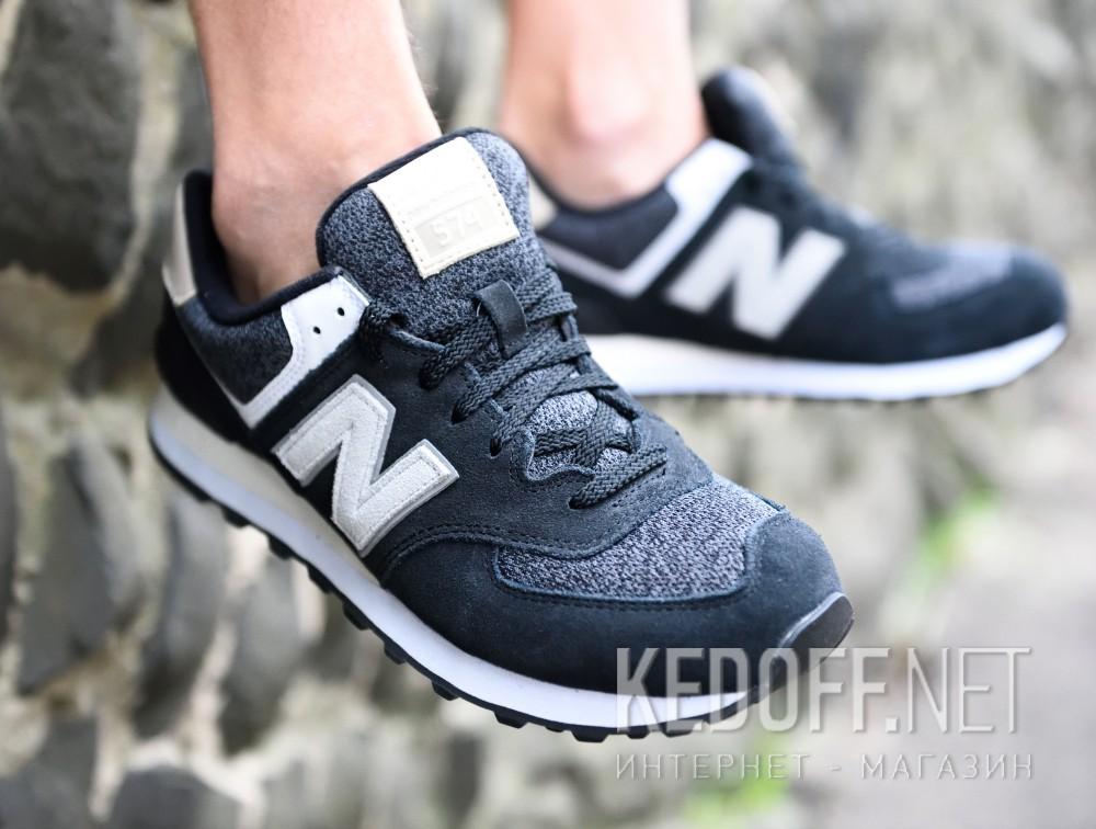Цены на Мужские кроссовки New Balance ML574VAI   (чёрный)