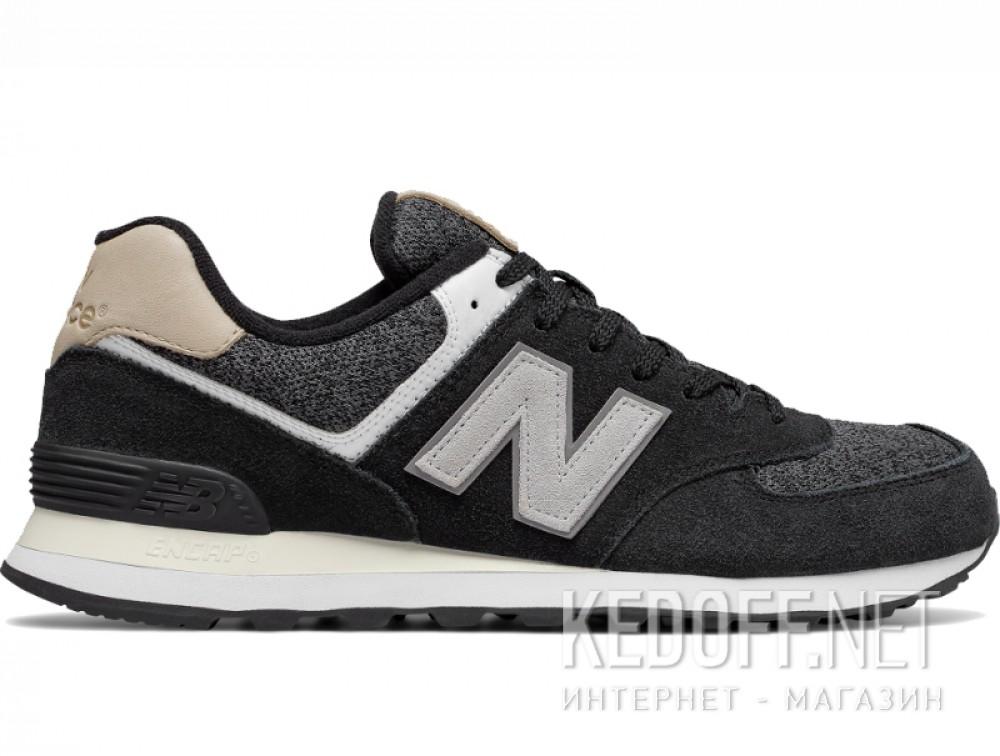 Мужские кроссовки New Balance ML574VAI   (чёрный) купить Украина